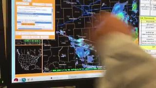 National Weather Service officials explain what happens when a tornado warning is issued - Video