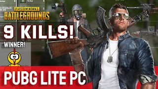 9 Kills! PUBG Lite PC - Let's Play Episode 2