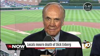 San Diegans mourn Dick Enberg - Video