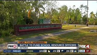 Battle to fund school resource officers in Lee County - Video