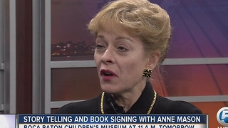 Story telling and booking signing with Anne Mason - Video
