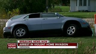 Baby found in stolen car used in car chase - Video