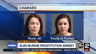 Massage parlor employees arrested for prostitution in Glen Burnie