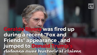 Geraldo Comes Out Swinging Defending Donald Trump - Video