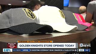 Vegas Golden Knights store officially open