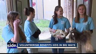Giving just a little of their time benefits teens in a big way - Video