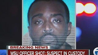 Suspect background in officer shooting