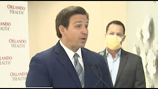Florida to identify large-scale sites for COVID-19 vaccinations, Gov. Ron DeSantis says