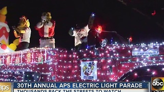 30th Annual APS Light Parade - Video