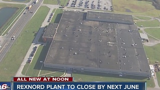A closing date is set for the Rexnord plant in Indianapolis - Video