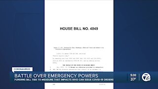 Battle over emergency powers