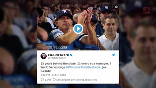 MLB Network Signs Deal With Joe Girardi - Video