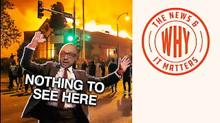 Peaceful Protest? MSNBC Reporter Ignores the Burning Building | Ep 545