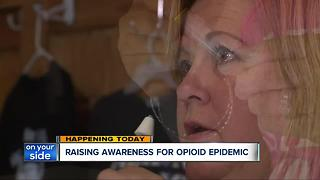 9-foot pill bottle displayed at Public Square - Video
