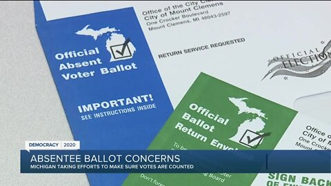 Absentee ballot concerns in Michigan