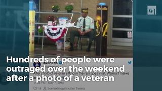 Walmart Under Fire After Manager Tells Veteran To Stand In Pouring Rain - Video