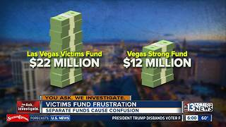 Multiple victim funds frustrate 1 October survivors - Video