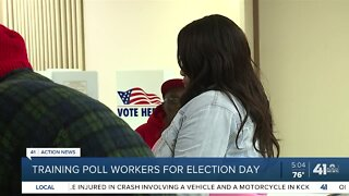 Training poll workers for election day