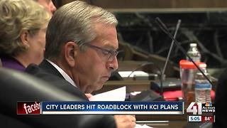 City council intensely debates ballot language for KCI terminal project - Video