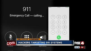 Hackers targeting 911 systems - Video