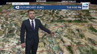13 First Alert Las Vegas evening forecast | October 25, 2020