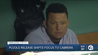 Pujols release places added scrutiny on Cabrera's slump