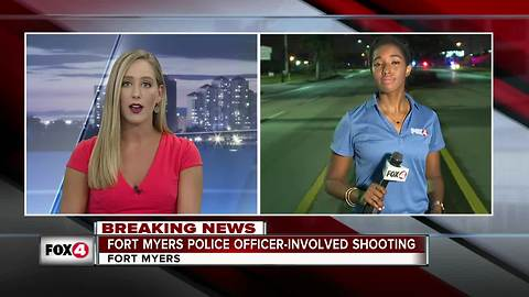 Police officer shot in Fort Myers on Saturday night