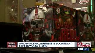 Amid Pandemic, Business is Booming at I-29 Fireworks Store