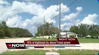 70% of Highlands Co. doesn't have power - Video