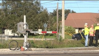 Amtrak train hits bicyclist in suburban West Palm Beach