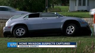 Witness recounts chase with home invasion suspect - Video