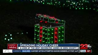 Spreading holiday cheer around Kern County - Video