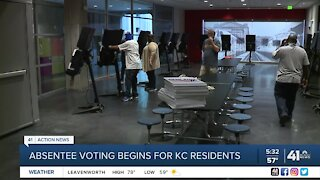 In-person absentee voting begins today in Kansas City, Missouri