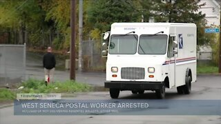 Postal worker accused of staling ballots, other mail