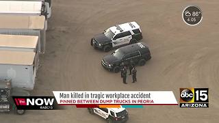 Man killed in accident at workplace in Peoria
