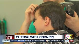 Stylist helps autistic boy conquer his fear - Video