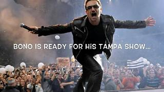 Expect delays before Wednesday's U2 Tampa show | Digital Short