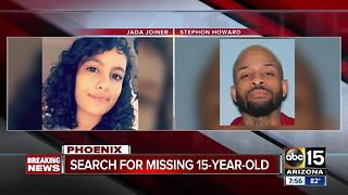 Police looking for missing 15-year-old from Phoenix, believed to be with 29-year-old - Video