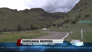 Arizona's Chiricahua National Monument reopens after fire