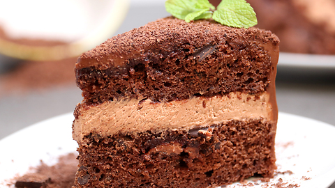 Triple chocolate dream cake recipe