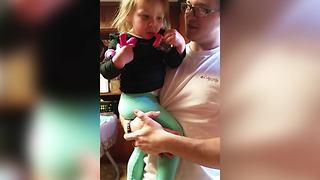 Birthday Girl Hates The Birthday Song, She Just Wants Cake - Video
