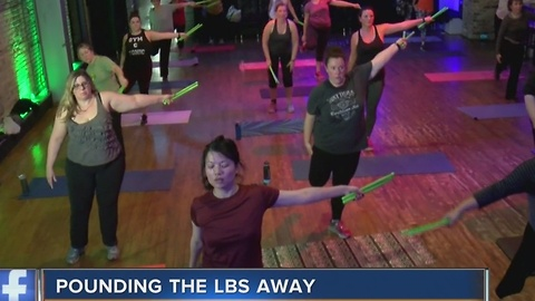 Tone up while rocking out with 'Pound Fitness'