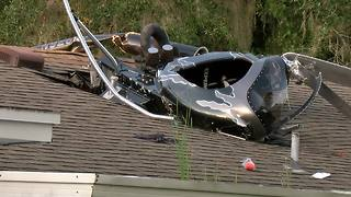Helicopter crashes into home in Odessa | Digital Short - Video
