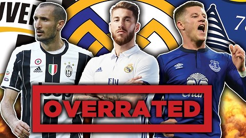 Most Overrated Footballers XI | Ramos, Barkley & Jordi Alba!