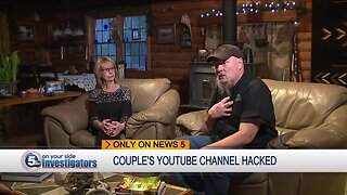 Medina County couple victimized by YouTube channel hackers