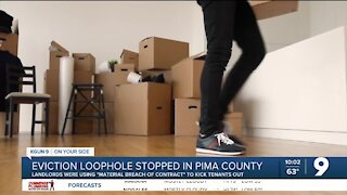 Pima County stops landlords from using eviction moratorium loophole