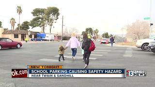 School parking causes safety hazard - Video