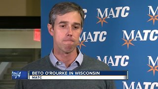 Potential 2020 candidate Beto O'Rourke planning two stops in Wisconsin Friday