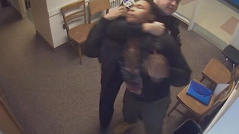 Police Officer Chokes Out High School Student
