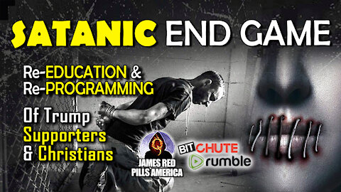 Satanic End Game: Re-Educating & Re-Programming ALL Conservatives & MAGA Supporters (Trevor Loudon)